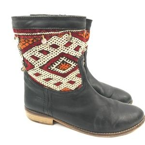 {Anthropologie} Howsty Western Cowboy Boots Sz 41